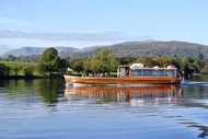Motor launch on Windermere