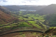 View over the Vale of Grasmere