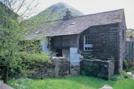 Traditional Lakeland slate house with spinning gallery ...