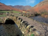 Packhorse bridge over the Mosedale Beck at Wasdale Head