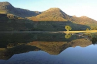 Red Pike and Burtness Combe reflected in Crummock Water